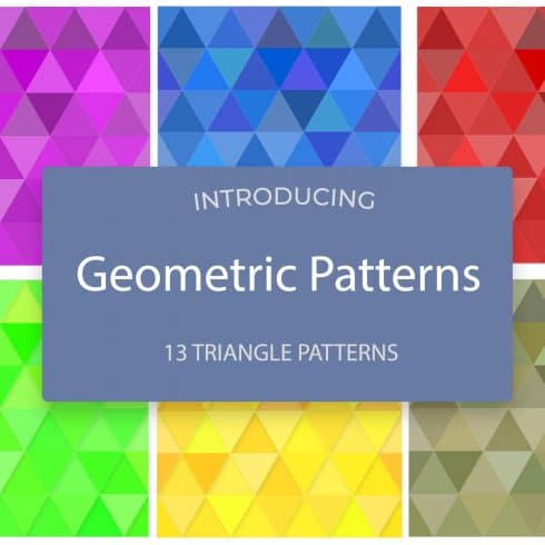 Geometric Patterns Collection - $6 - 600 1 490x490