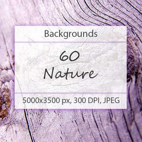60 Nature Backgrounds - $7 - 600 3