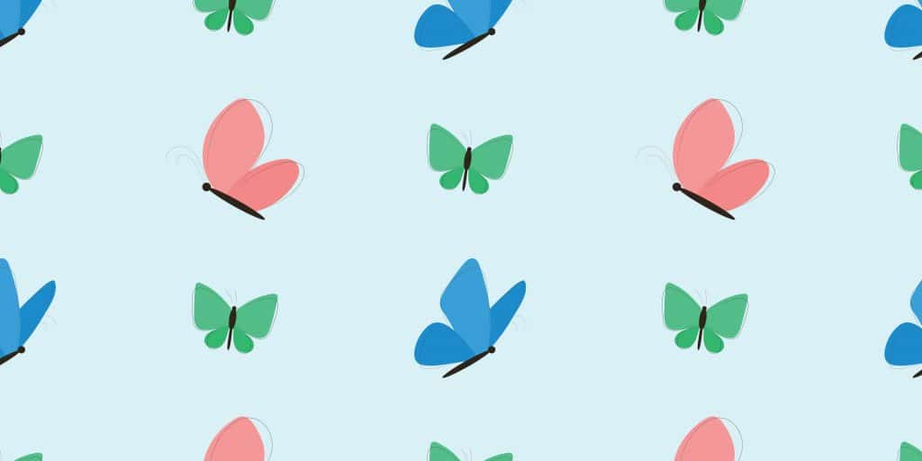 Butterfly Clipart: 10 Lovely Patterns - $10 - butterfly clipart5