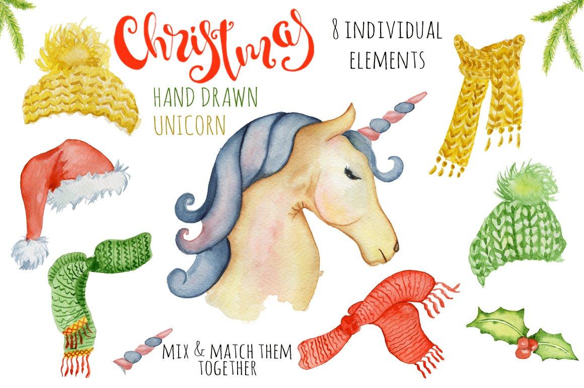Christmas unicorn creator