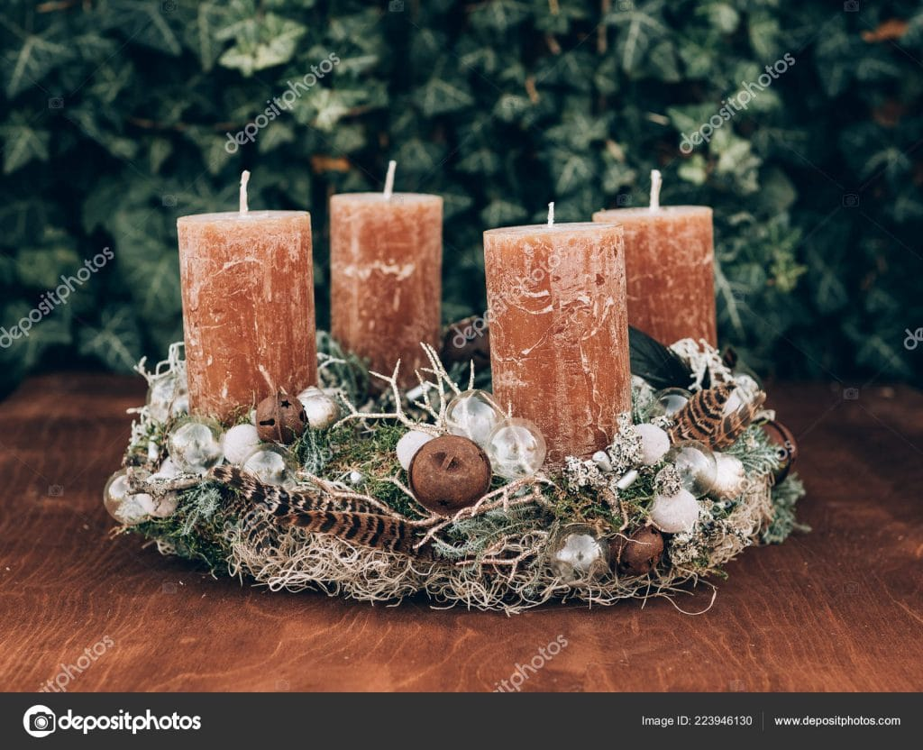 Christmas Stock Photos & Images. Photo Deal: 100 Royalty-free Photos & Vectors - $69! - depositphotos 223946130 stock photo advent wreath pre christmas time