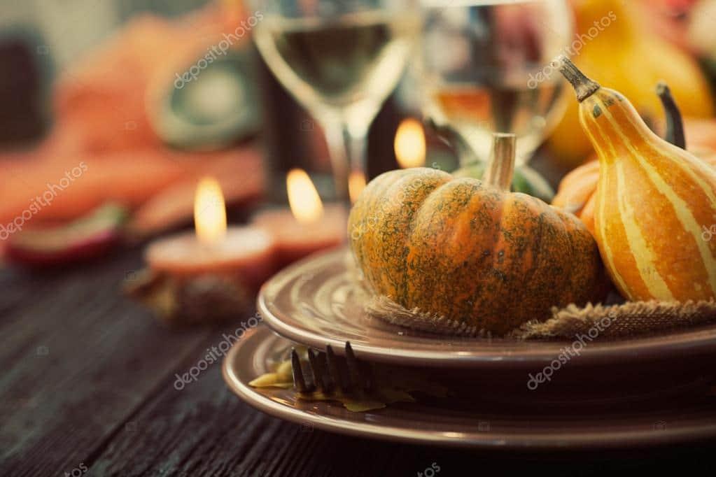 Thanksgiving Stock Photos & Images. Photo Deal: 100 Royalty-free Photos & Vectors - $69! - depositphotos 53797989 stock photo restaurant autumn place setting