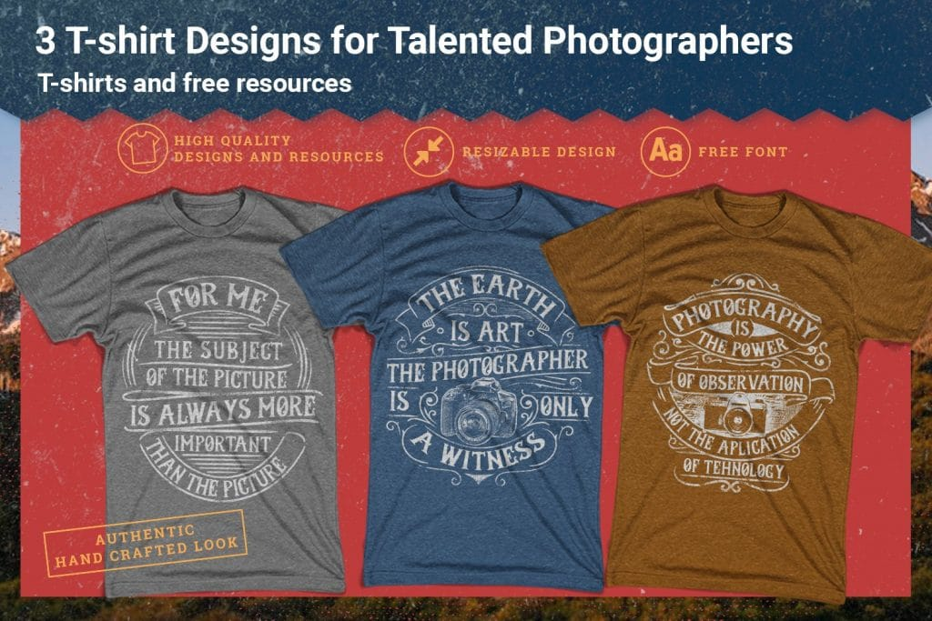 100 Editable T-shirt Designs - $39 - fotography