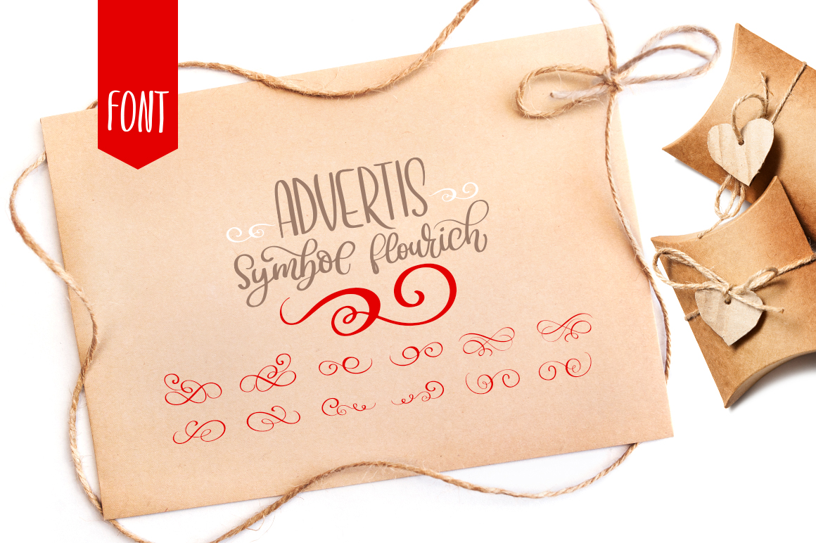 Christmas Advertis Ornament Font
