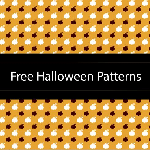 Free Halloween Patterns: 3 Geometric Patterns - 05 490x490