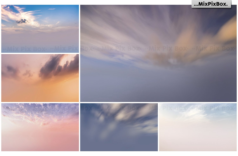 60 Dramatic Sky Photo Overlays - $7 - 2 3