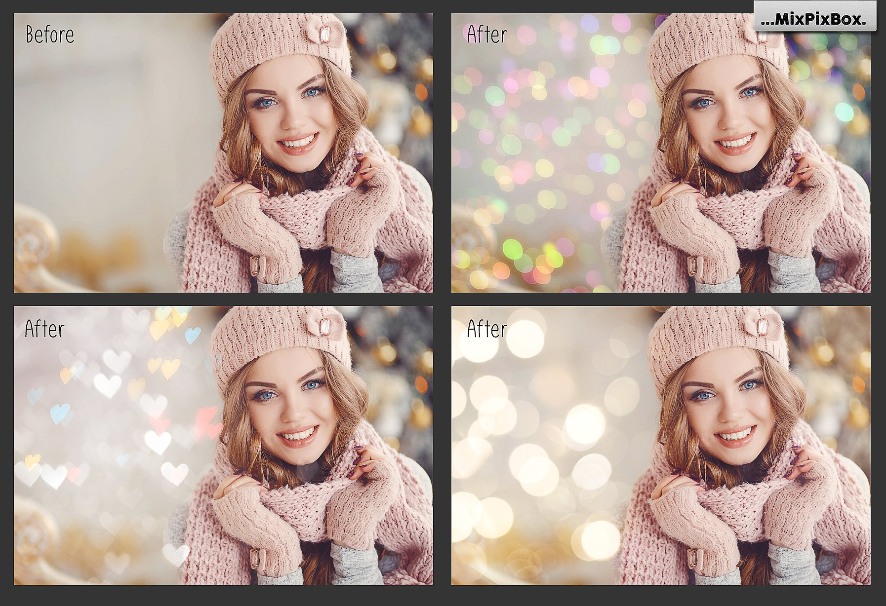 100 Bokeh Photo Overlays - $9 - 2 5