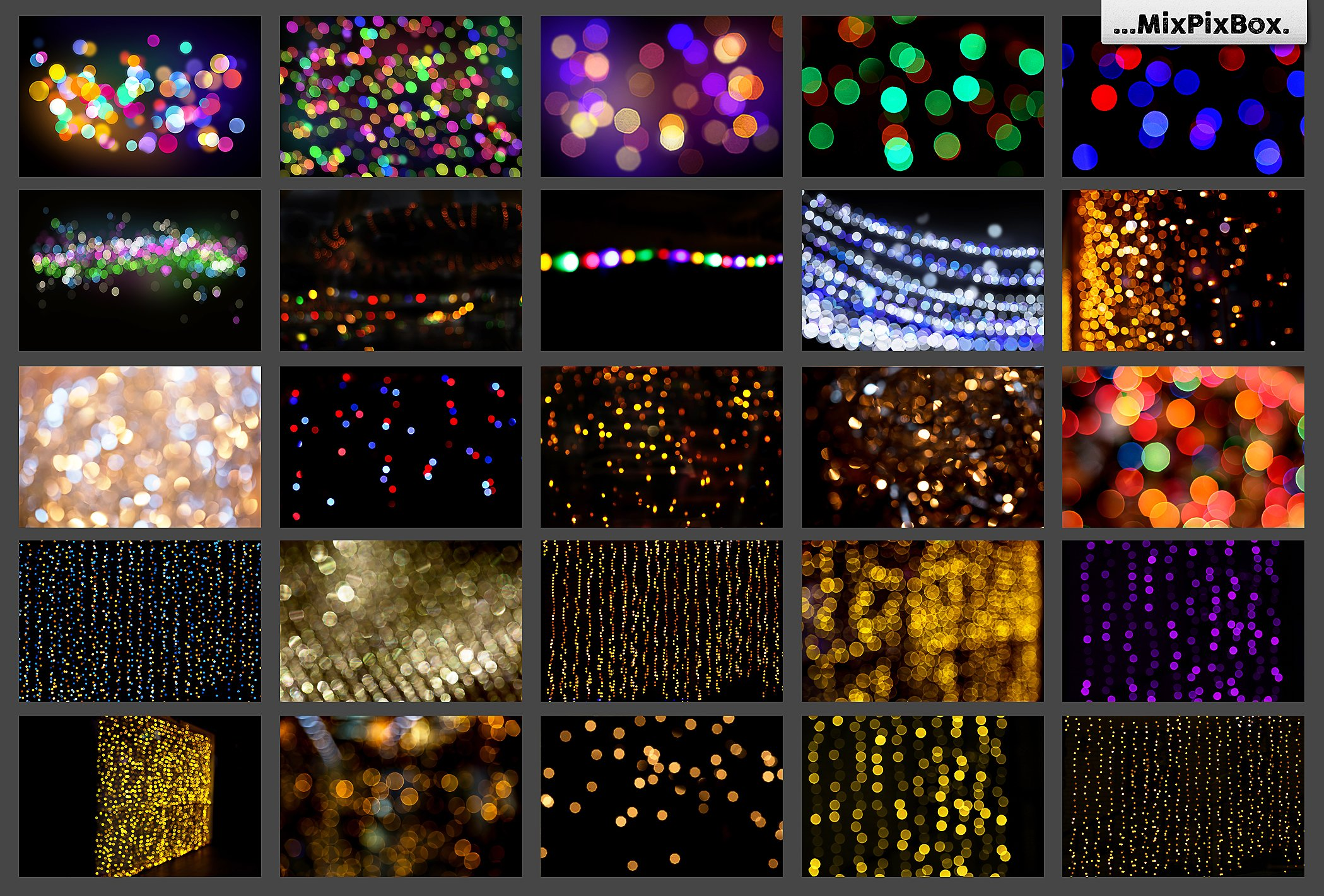 100 Bokeh Photo Overlays - $9 - 4 3
