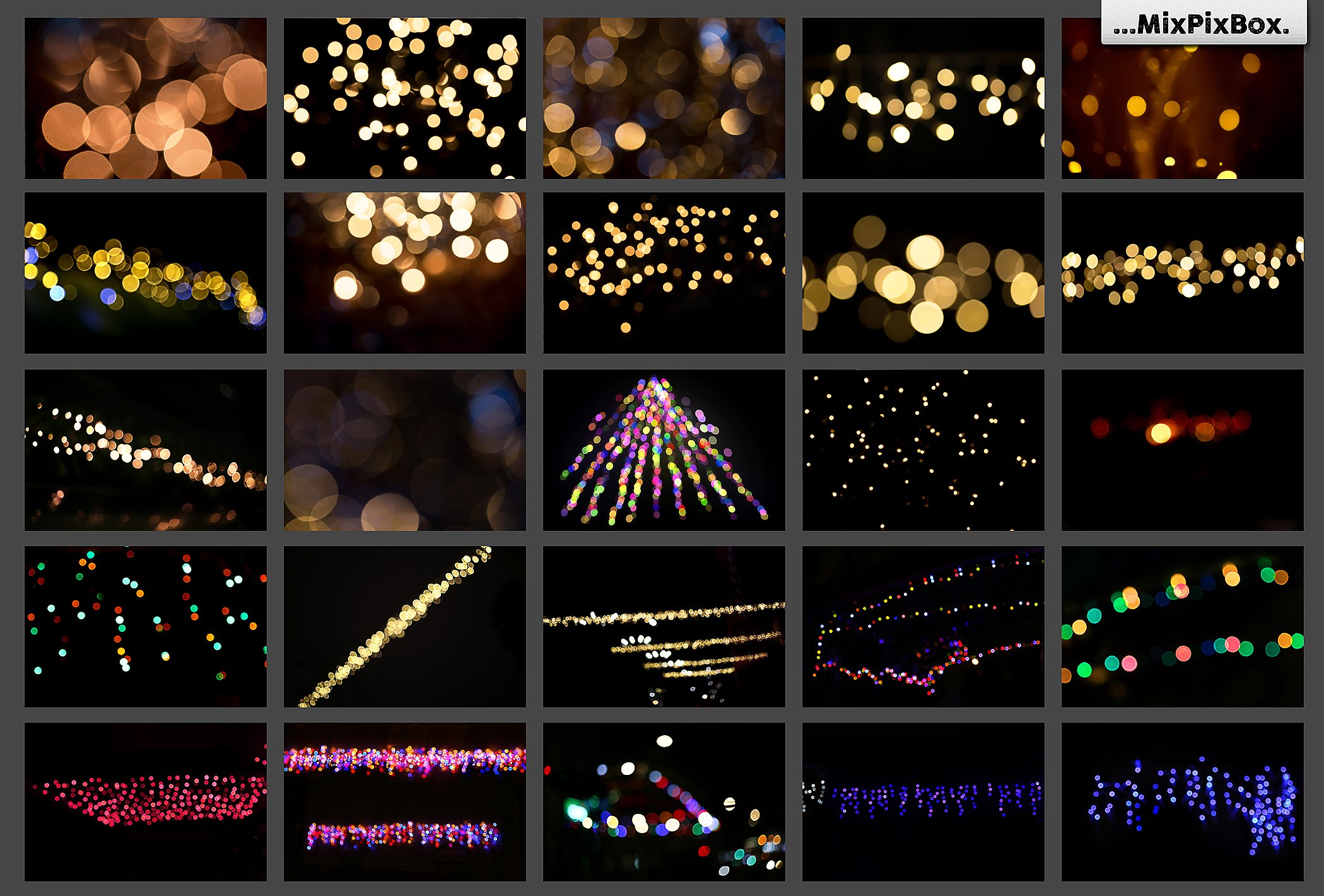 100 Bokeh Photo Overlays - $9 - 5 2