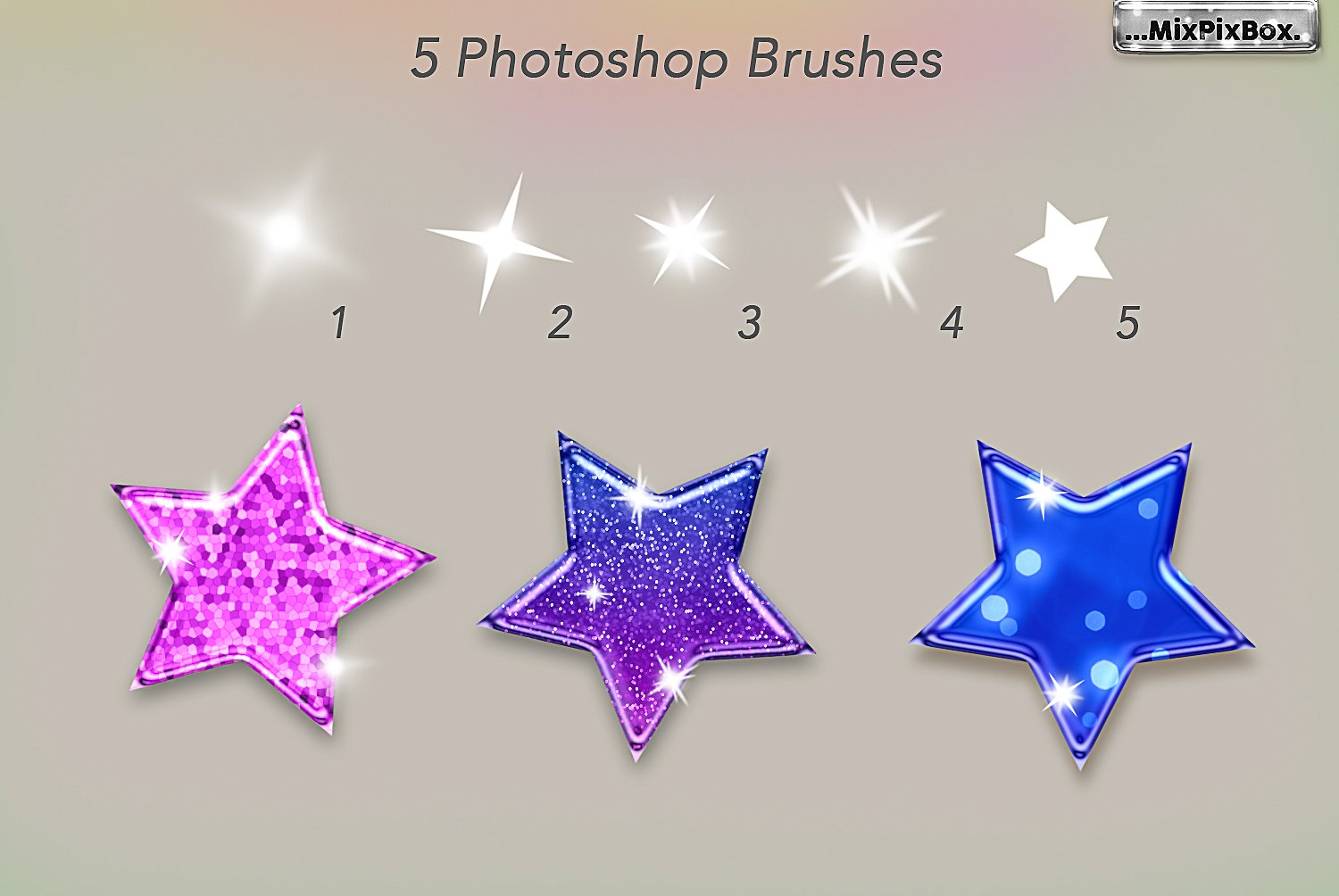 Sparkling Glossy Layer Styles for PS