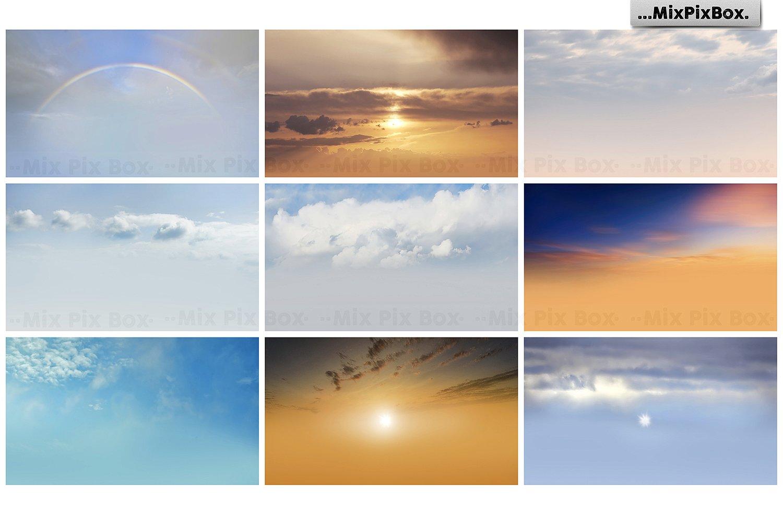 60 Dramatic Sky Photo Overlays - $7 - 6 1