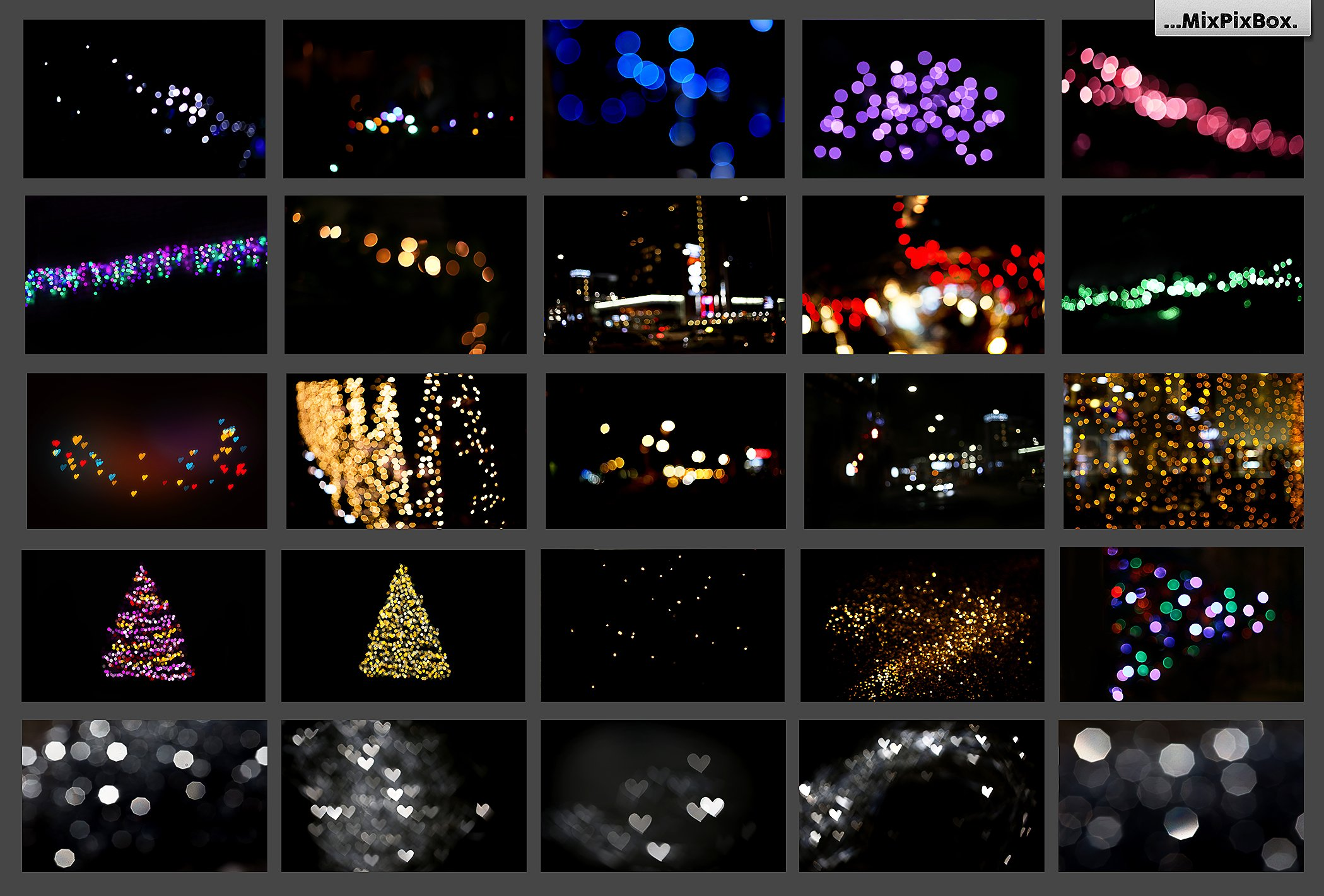 100 Bokeh Photo Overlays - $9 - 6 2