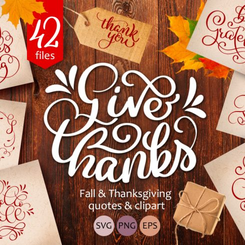 Calligraphy for Thanksgiving Day - $17 - 600 1 490x490