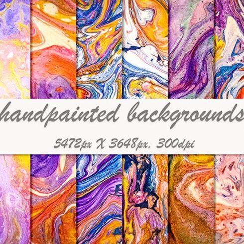 759 Paint Backgrounds: 20 Liquid Paint Volumes - $15 - 600 13 490x490