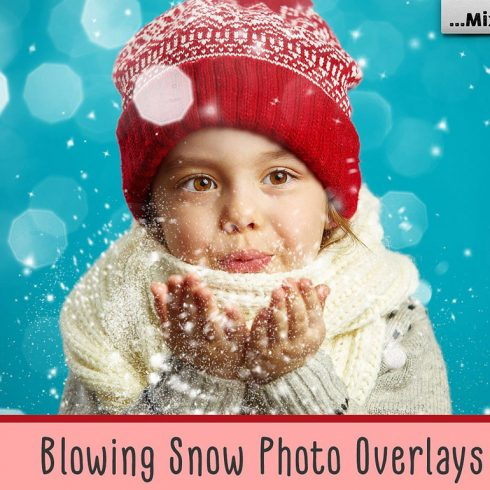 20 Blowing Snow Photo Overlays 2020 - 600 7 490x490