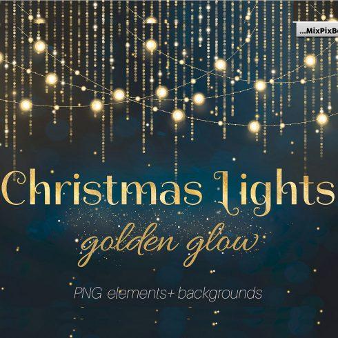 Christmas Lights Golden Glow - $9 - 609 490x490