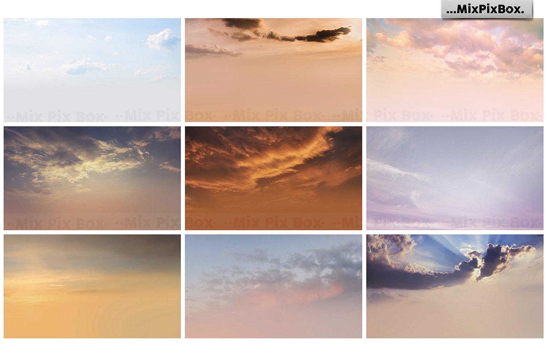 60 Dramatic Sky Photo Overlays - $7 - 7 1