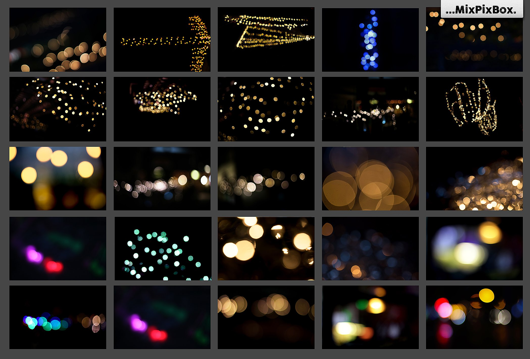 100 Bokeh Photo Overlays - $9 - 7 2