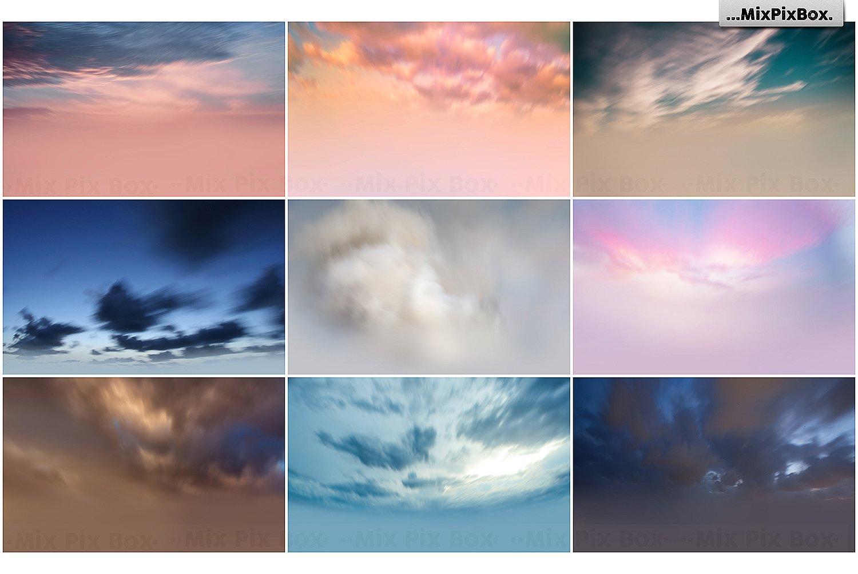 60 Photo Overlays: Long Exposure Sky - $6 - 7 7