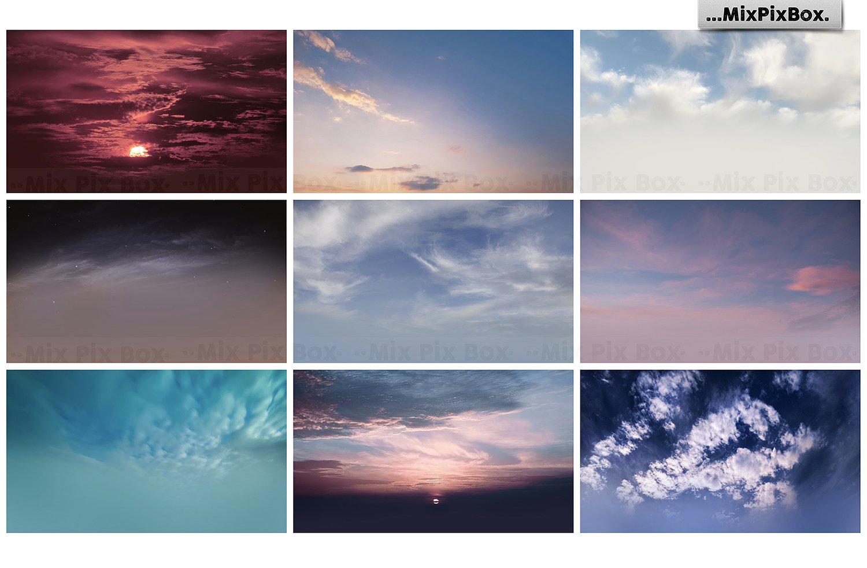 60 Dramatic Sky Photo Overlays - $7 - 8 1