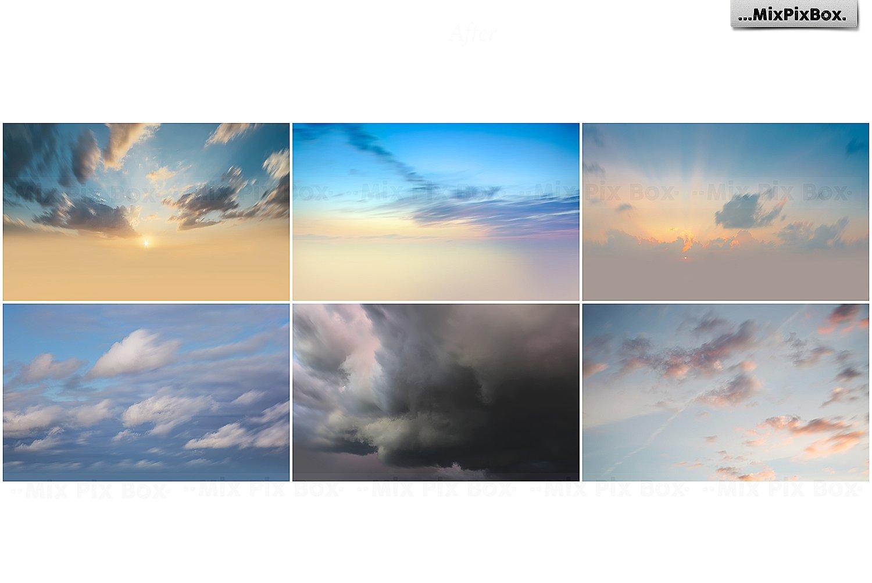 60 Photo Overlays: Long Exposure Sky - $6 - 8 5