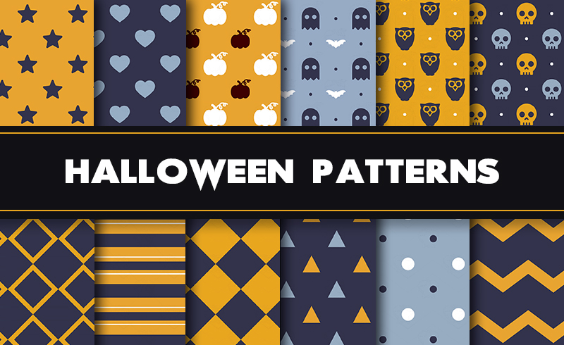 Scary Halloween Patterns