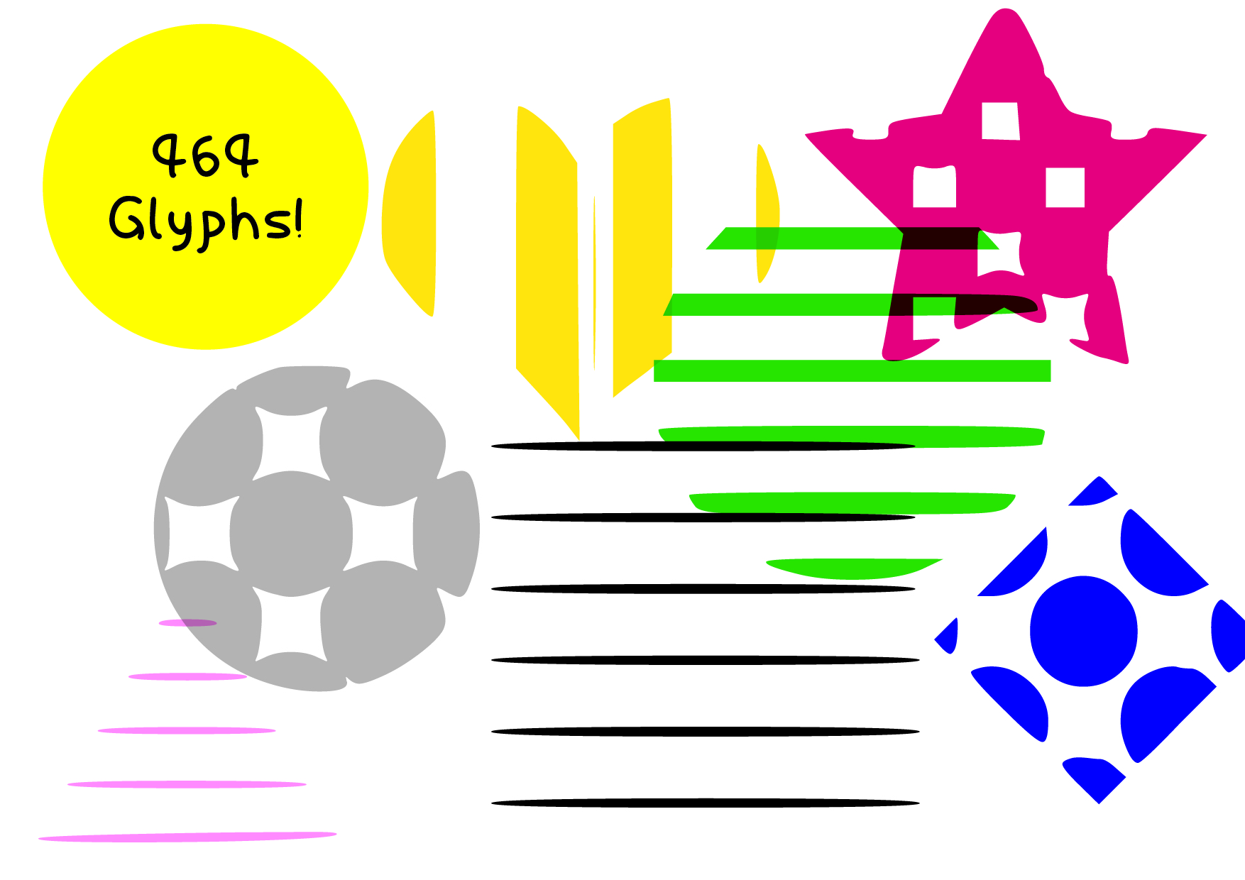 33 Useful Arts Crafts Dingbat Shape Pack - $29 - CF image 03 1