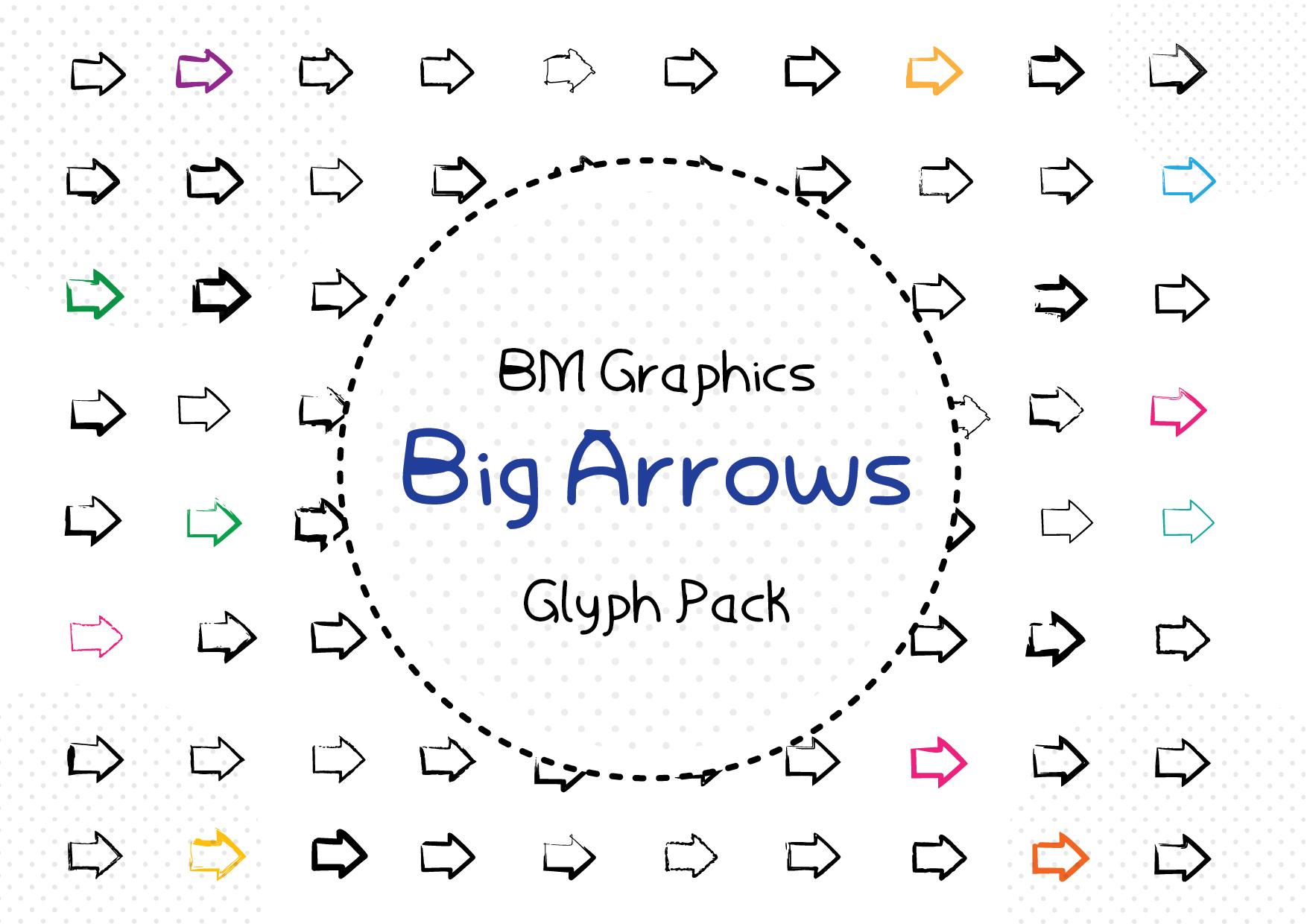 Big Arrows Font