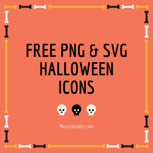 Mega 12 in 1 Halloween Graphic bundle - $25 ONLY - Free PNG SVG Halloween Icons 490x490