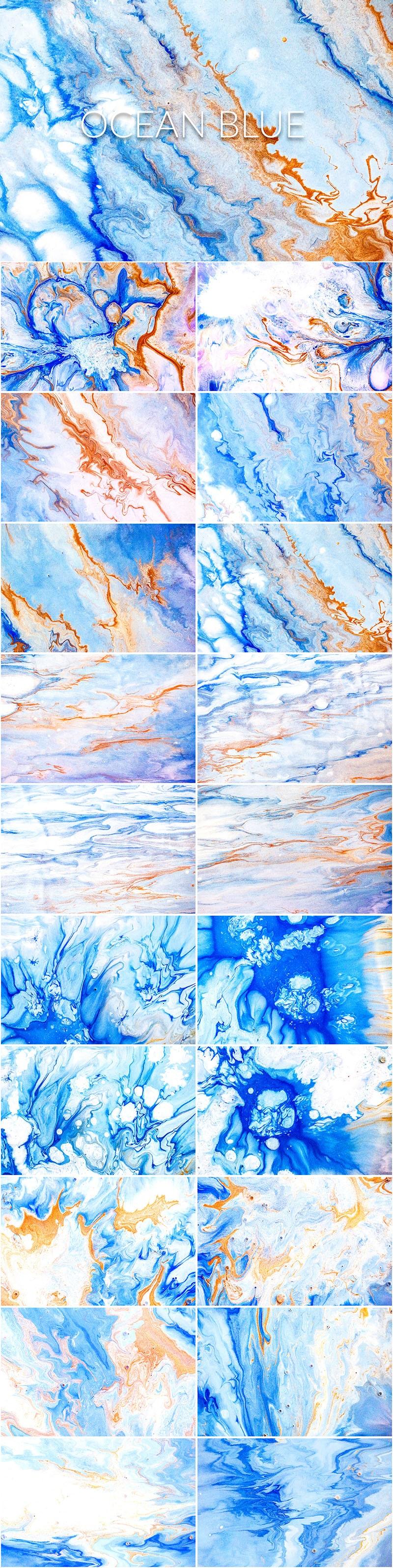 750+ Best Liquid Paint Backgrounds in 2020 - Liquid Paint Ocean Blue PREVIEW min