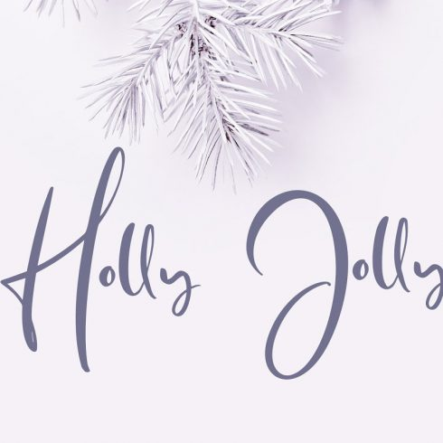 Holly Jolly Hand Drawn Font - $18 - Untitled 1 490x490