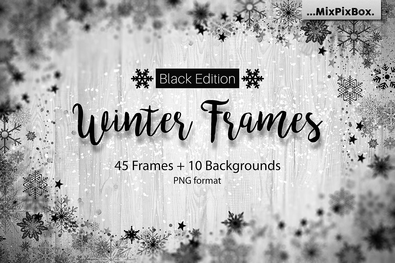 Black Friday Mega Photo Overlays Deal: 35 All Seasons Bundles - cover 2