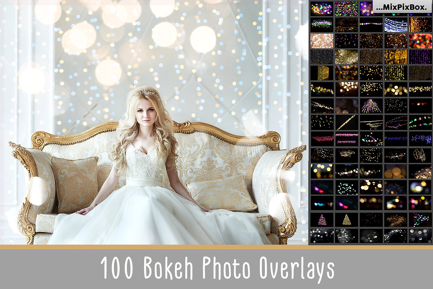 100 Bokeh Photo Overlays - $9 - cover 3