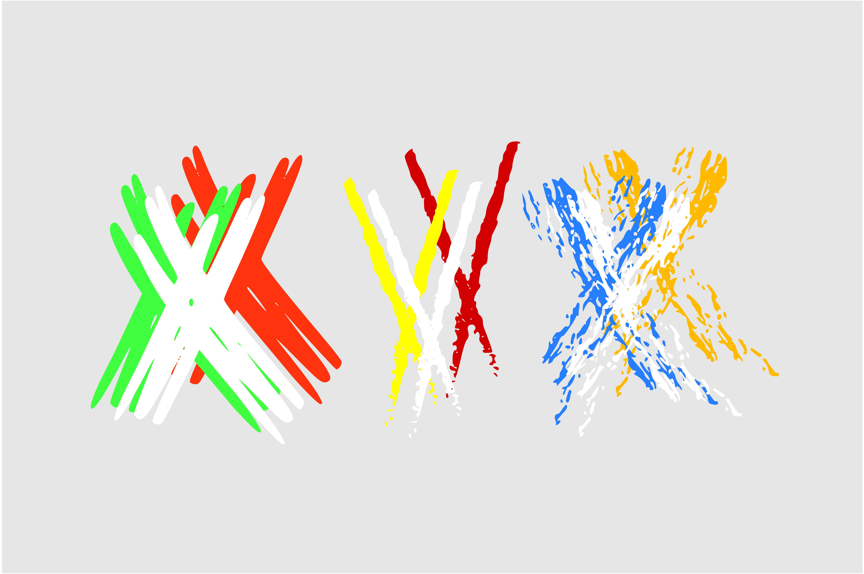 Crosses Font