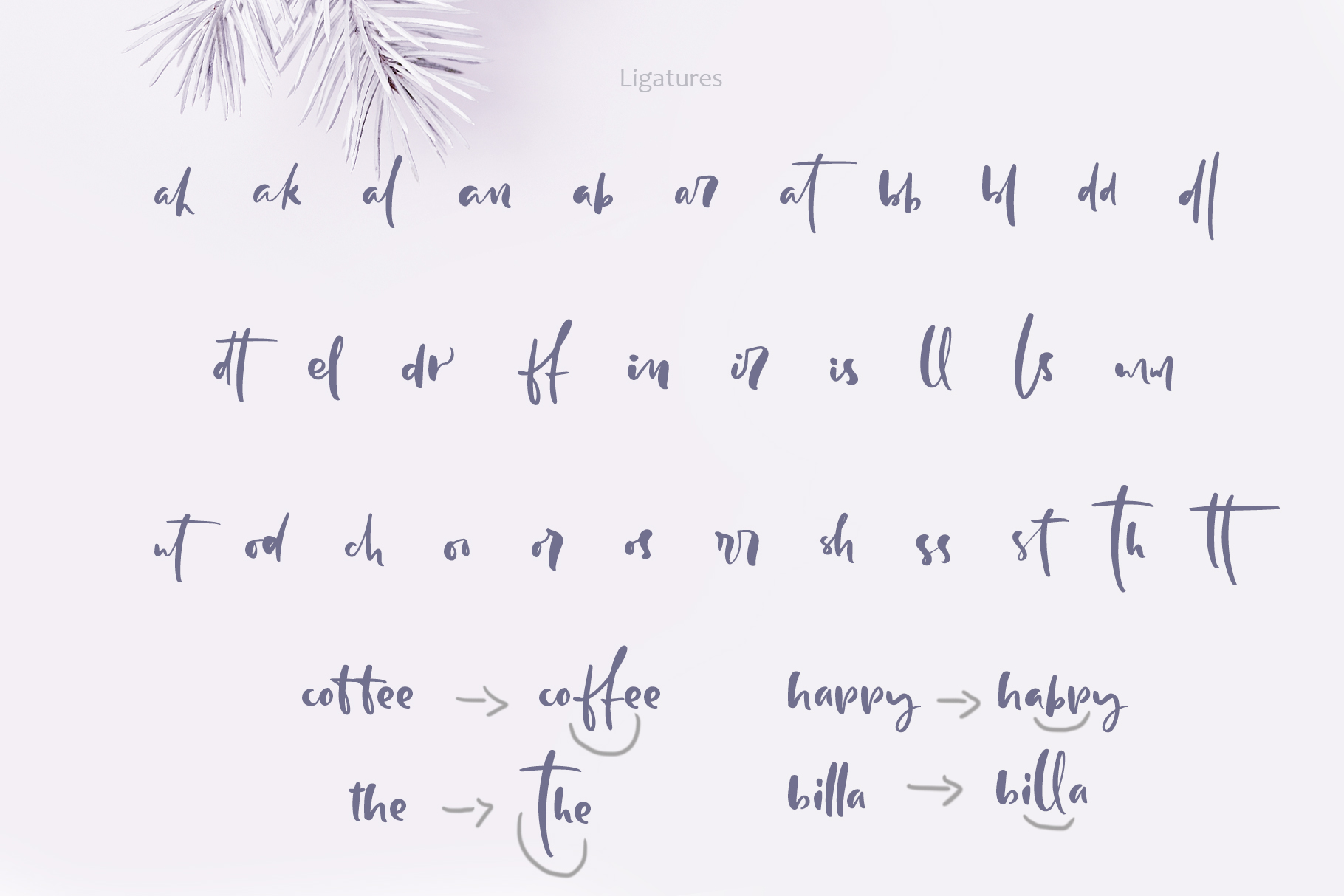 Holly Jolly Hand Drawn Font - $18 - title06