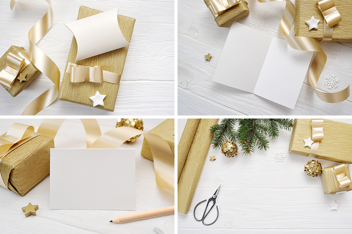 35 Christmas Background Mock Ups with smart object - $16 - title 05