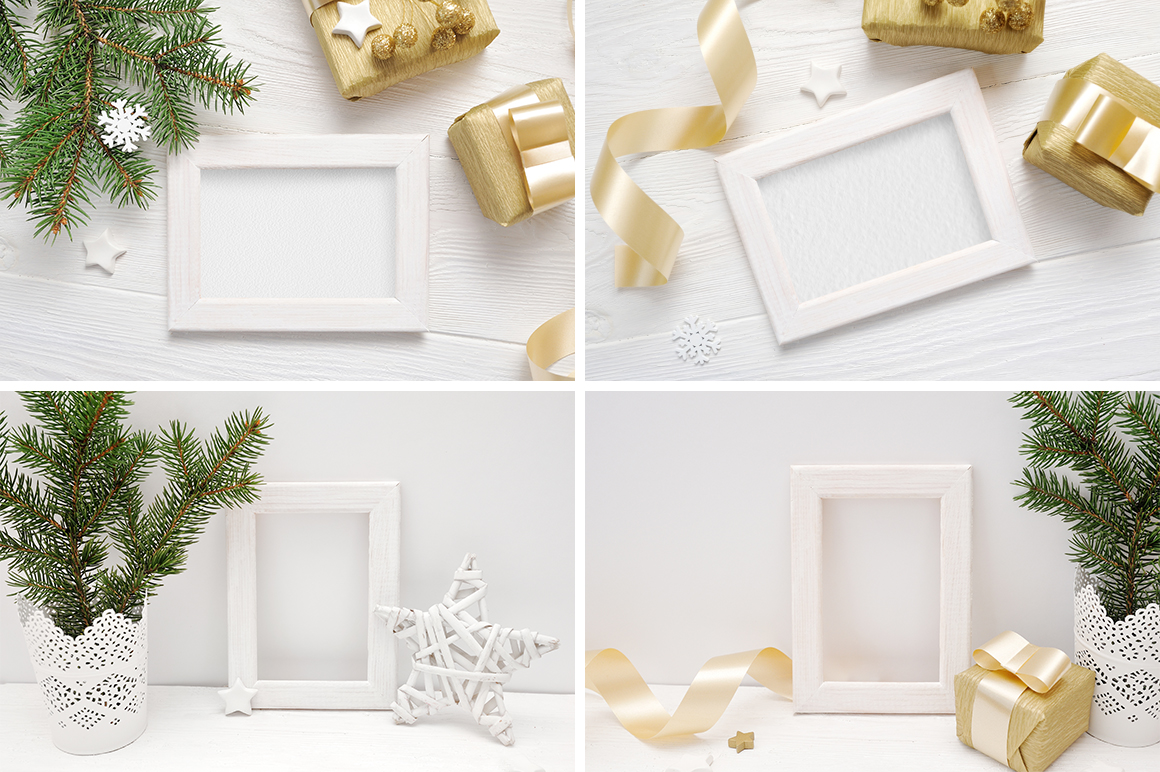 35 Christmas Background Mock Ups with smart object - $16 - title 07