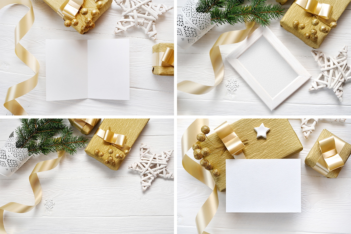 35 Christmas Background Mock Ups with smart object - $16 - title 08