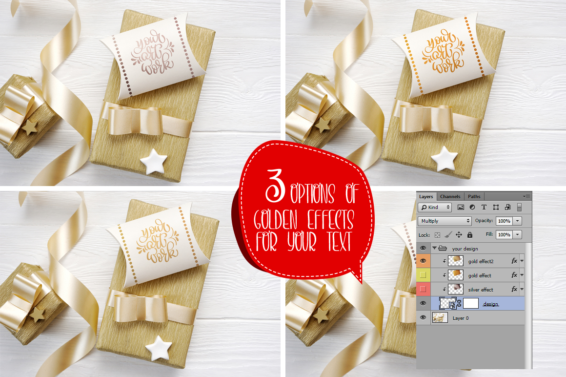 35 Christmas Background Mock Ups with smart object - $16 - title 09