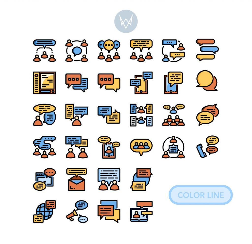Black Friday Icon Bundle: 16 in 1 Collection - 522 Icons! - 02