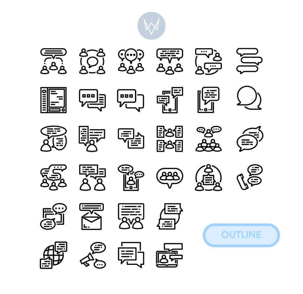 Black Friday Icon Bundle: 16 in 1 Collection - 522 Icons! - 04