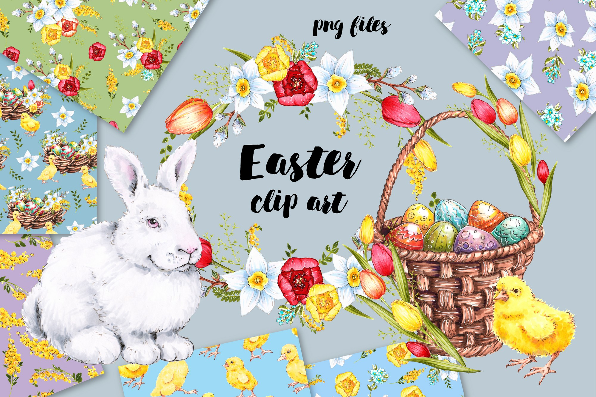 200+ Premium Easter Background in 2020: Free Vectors, Photos PSD files and Elements in Web Design - 1 7