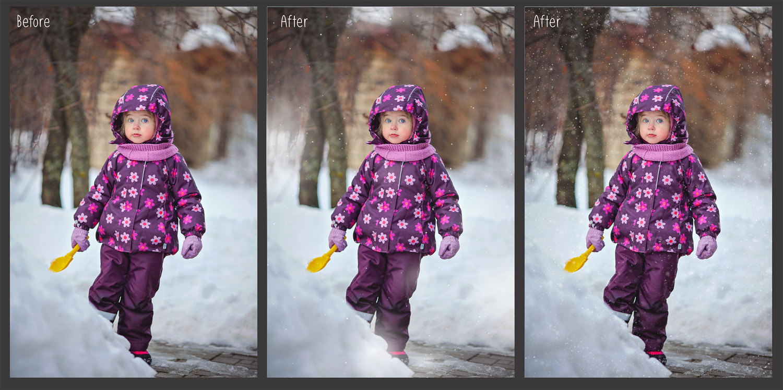 30 Overlays Natural Snow  - $8 - 1 8