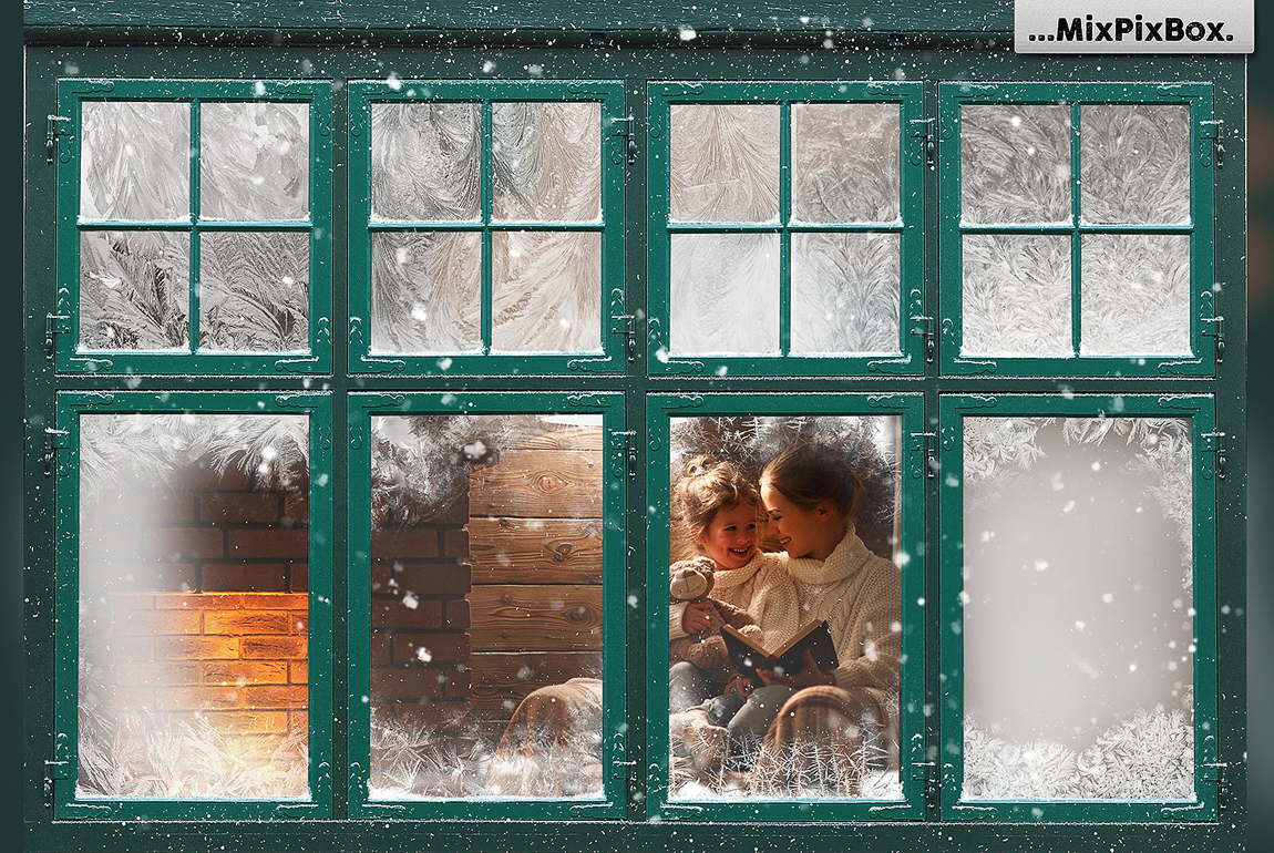 Christmas Window Frames