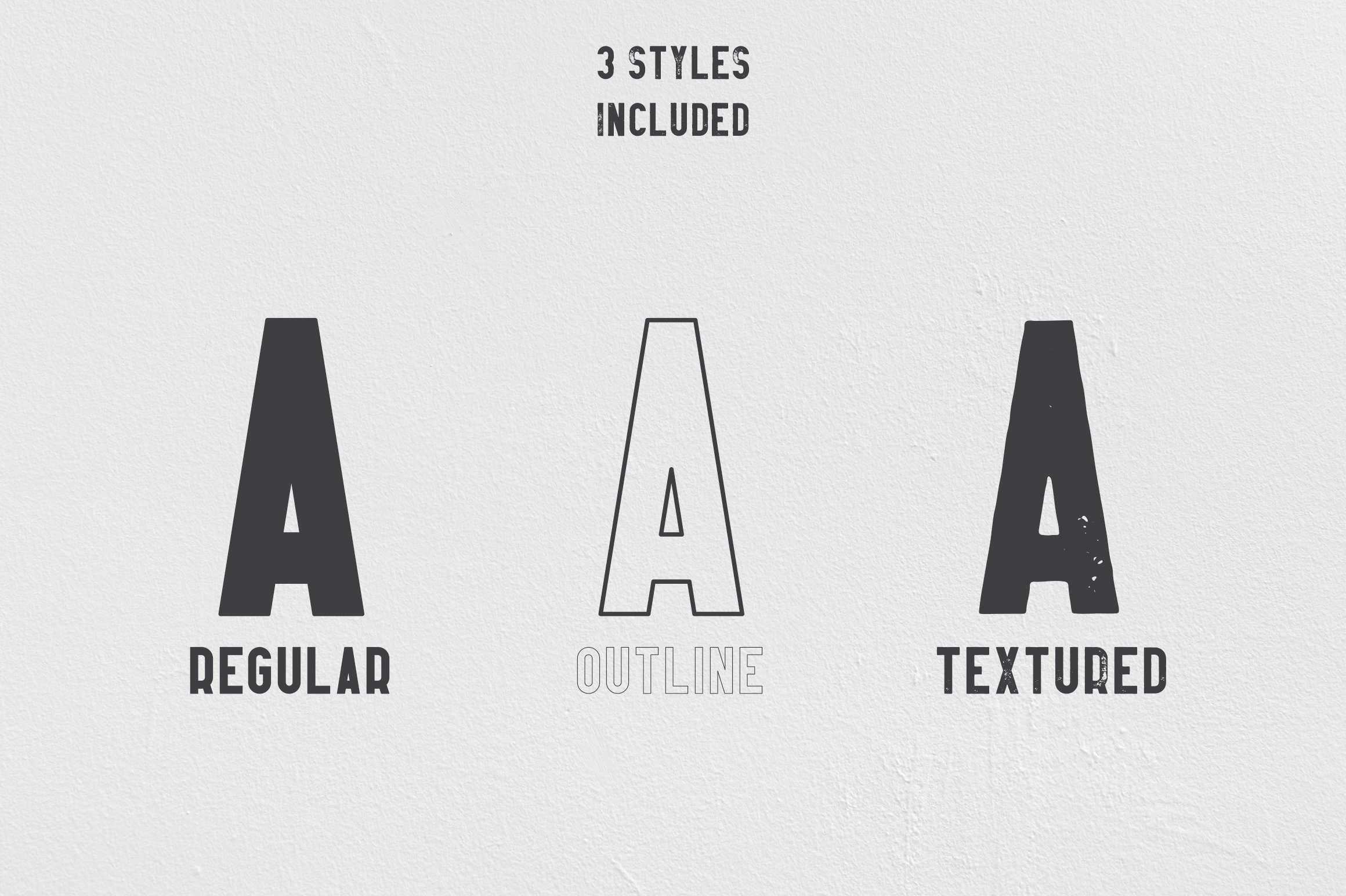 Afterclap Typeface - 3 Styles Playfair Display Font