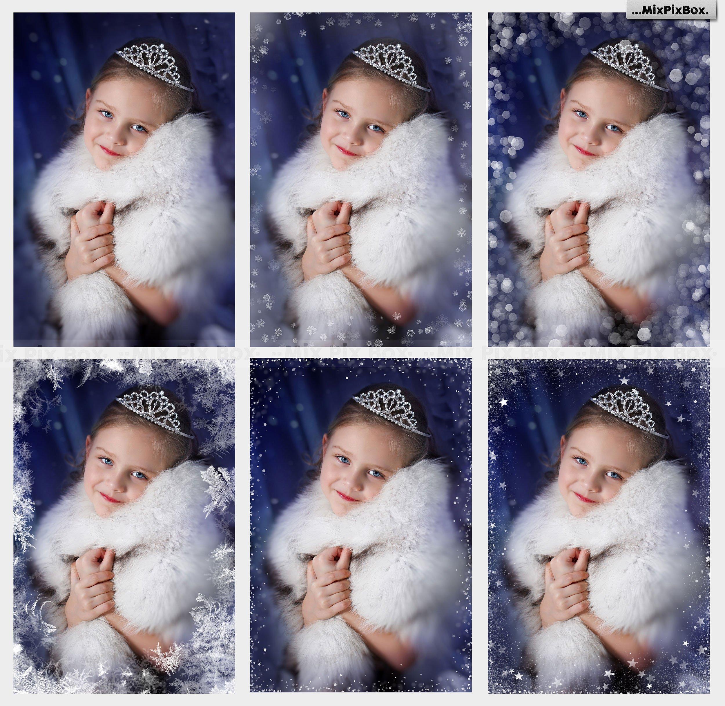 Snowflake & Christmas Overlays