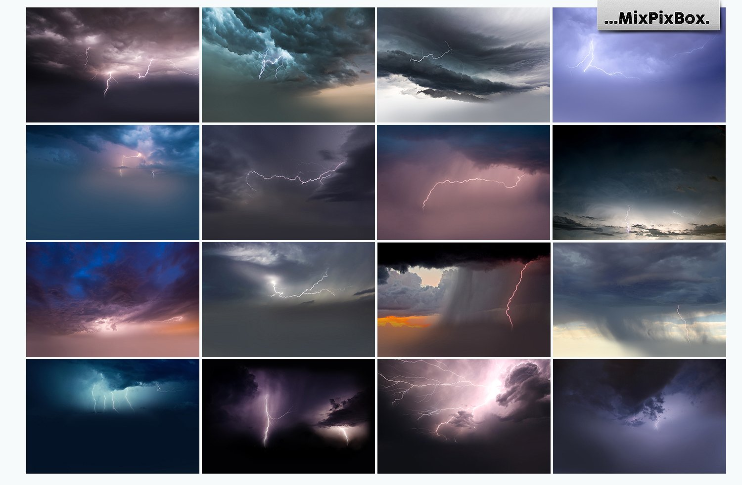 Lightning Photo Overlays - $8 - 3 5