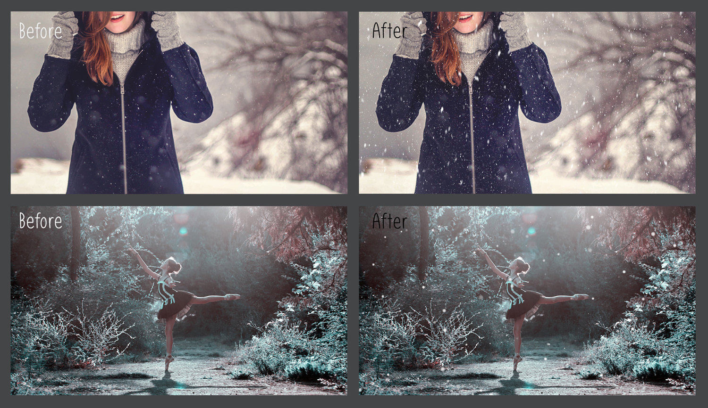 30 Overlays Natural Snow  - $8 - 4 9