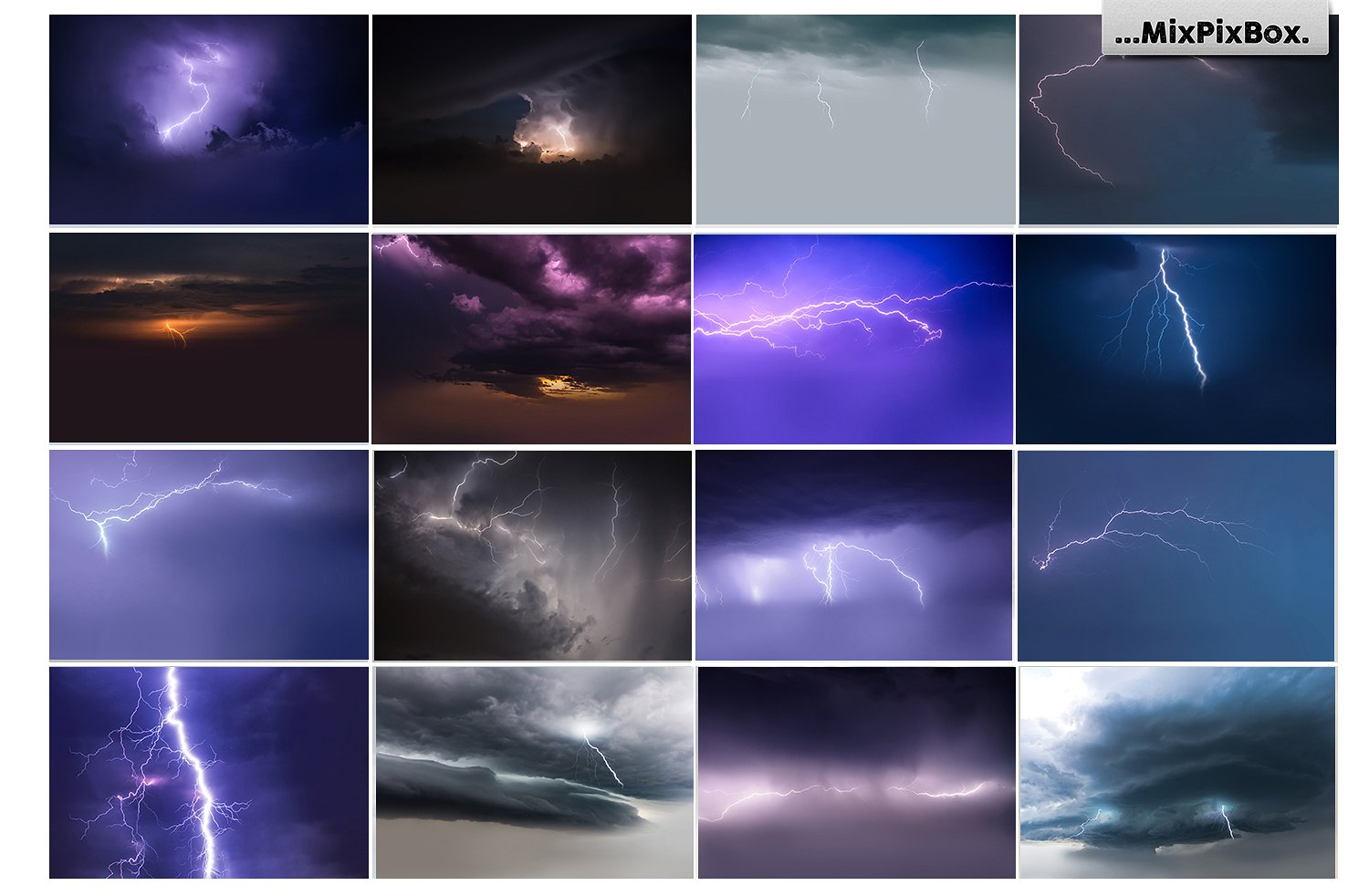 Lightning Photo Overlays - $8 - 5 4