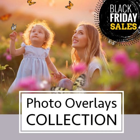 Black Friday Mega Photo Overlays Deal: 35 All Seasons Bundles - 600 13 490x490